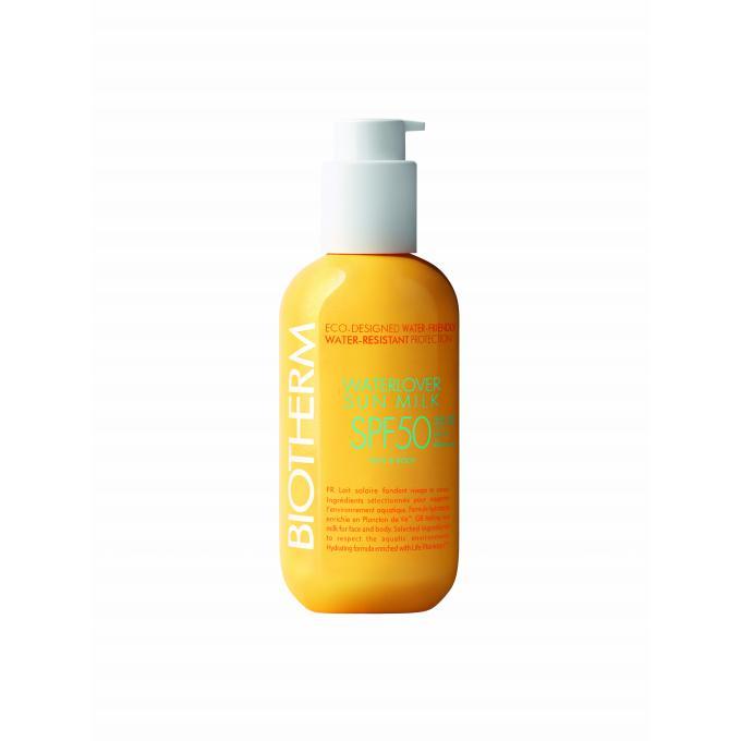 Soins du corps et cosmétiques Waterlover Sun Milk SPF50 - Ecologique, R