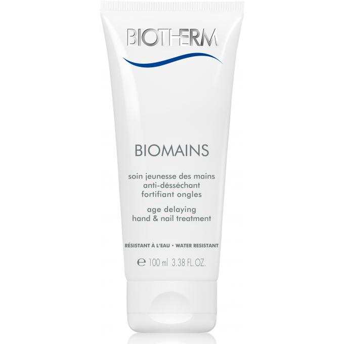 BIOMAINS ANTI-DESSECHANT & FORTIFIANT ONGLES Peau Grasse Biotherm