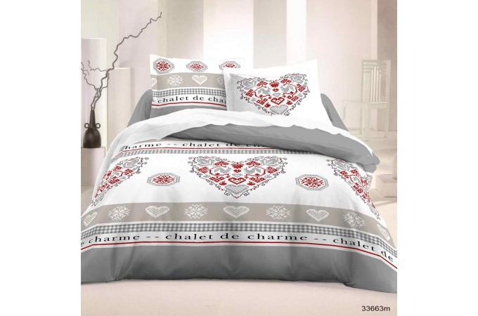 Parure lit romantique achat au meilleur prix avec kibodio - Parure de lit romantique ...