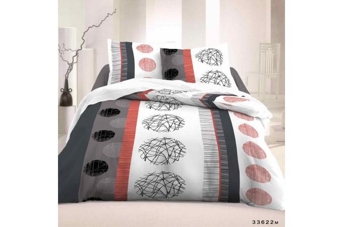 Declikdeco  Parure de lit et ses deux taies d'oreiller Relax 220x240 cm