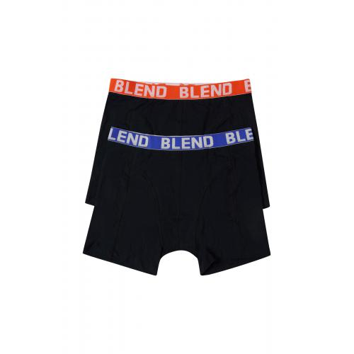 Blend - Boxer &Shorty homme rouge - Shorty boxer homme