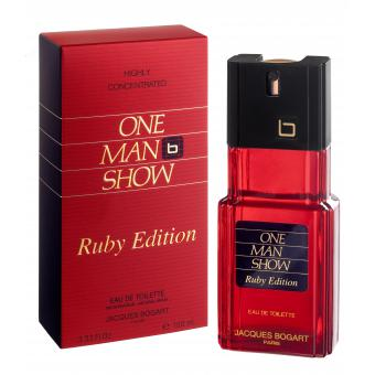 Bogart Parfums - ONE MAN SHOW Ruby Edition - Parfum homme bogart