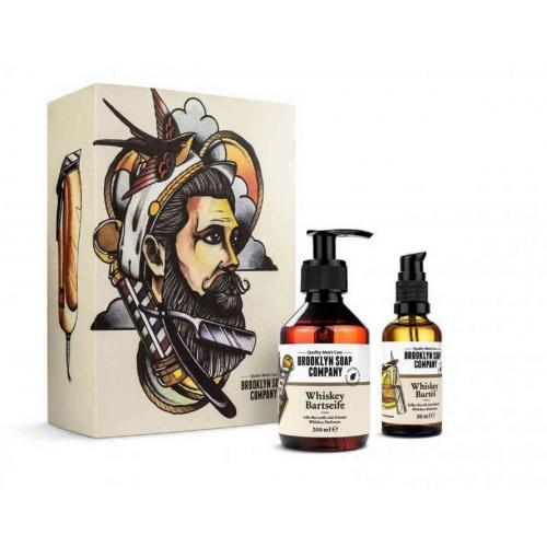 "Brooklyn Soap Company - BROOKLYN SOAP BOX SOIN DE LA BARBE ""WHISKEY"" - Rasage homme"