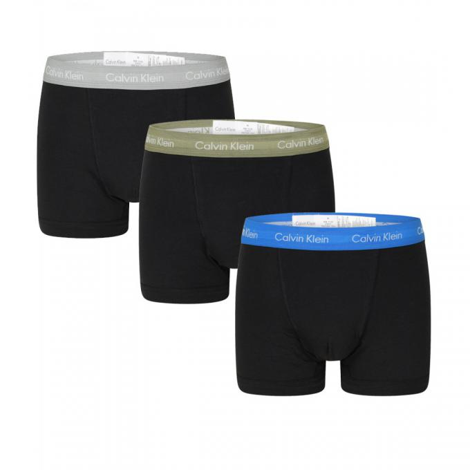 Sous-Vêtements homme Calvin Klein Underwear · PACK 3 BOXERS COTON STRETCH Calvin  Klein Underwear · PACK 3 BOXERS COTON STRETCH - Ceinture Logotée 4bd0d052b00