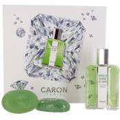 Caron Paris - Coffret pour un homme Eau de Toilette 125ml & 2 Savons - Coffret Soin Visage HOMME