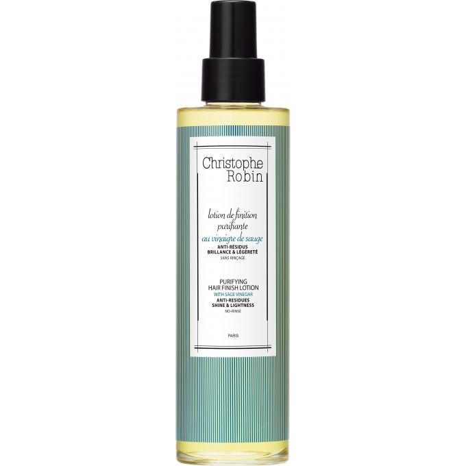 lotion de finition purifiante au vinaigre de sauge pour cheveux christophe robin hydratant. Black Bedroom Furniture Sets. Home Design Ideas