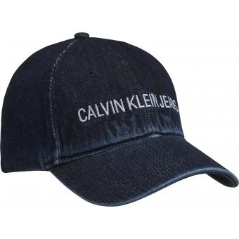 Ck Calvin Klein and Calvin Klein Jeans - J INSTITUTIONAL DENIM CAP - Accessoire mode homme
