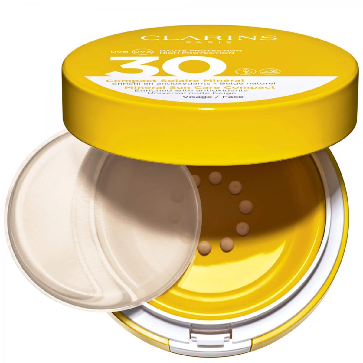 COMPACT SOLAIRE MINERAL SPF30 VISAGE