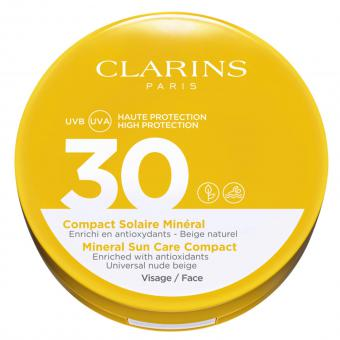 COMPACT SOLAIRE MINERAL SPF30 VISAGE Clarins Solaires