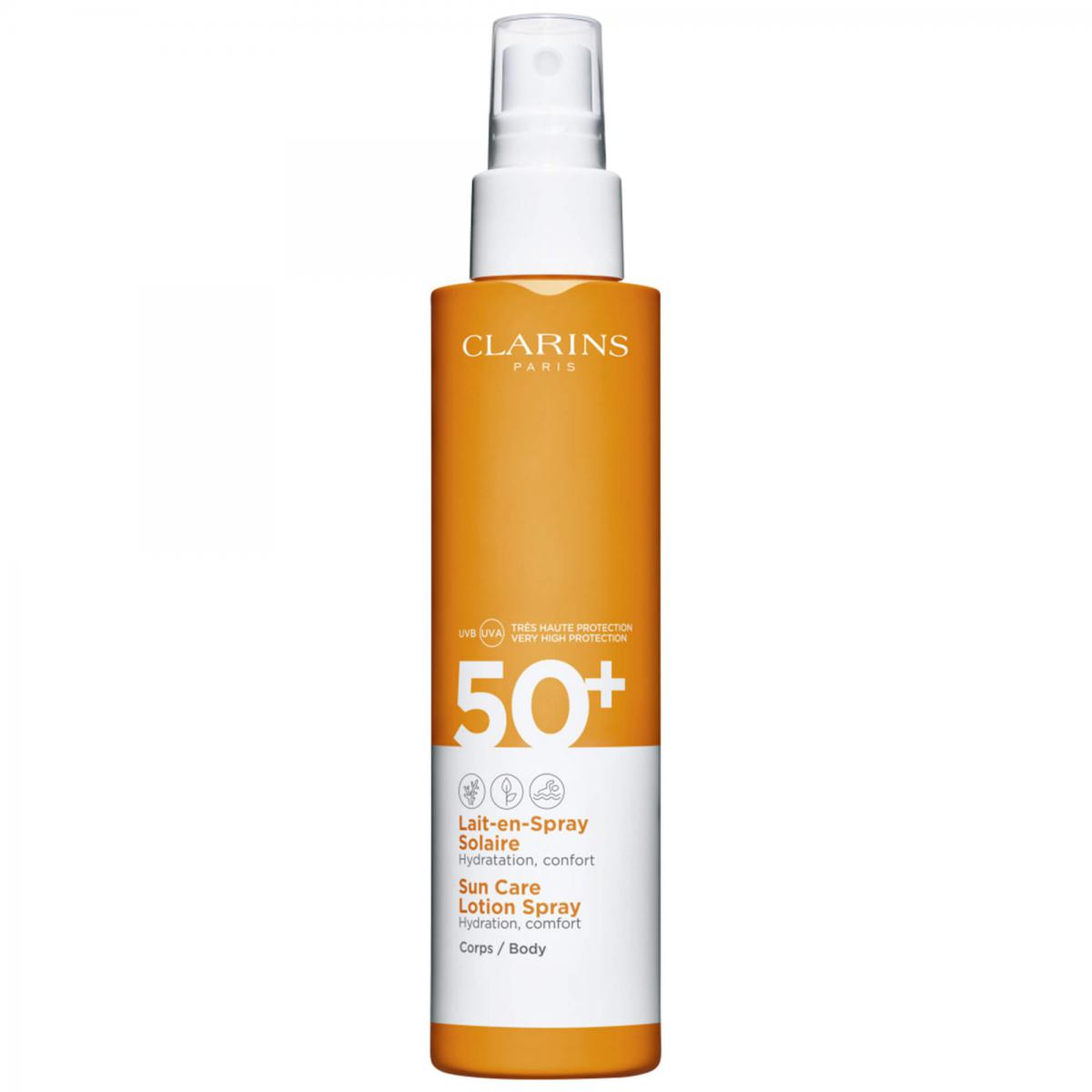 LAIT EN SPRAY SOLAIRE SPF50+ CORPS Clarins Men