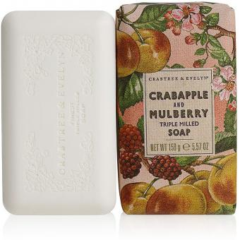 Savon Pomme sauvage & Mûre Peau Grasse Crabtree & Evelyn