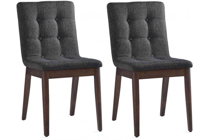 Lot de 2 chaises terrence chaise design pas cher - Lot de chaise design pas cher ...