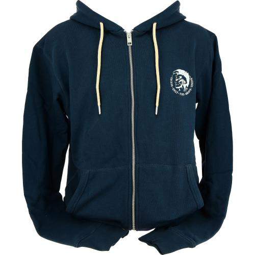 Diesel Underwear - Sweat Shirt Zippé Capuche Brandon - Noël Sous-Vêtements HOMME