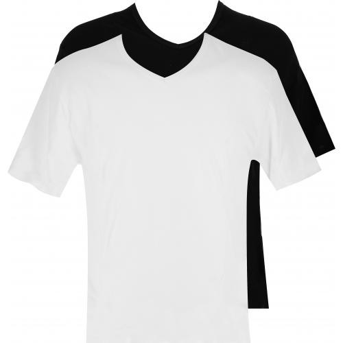 Dim - Pack de 2 T-Shirts Col V X-Temp - Mode homme