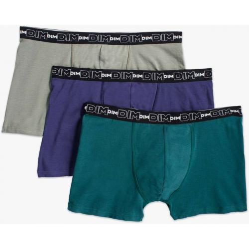 Pack de 3 Boxers Coton Stretch