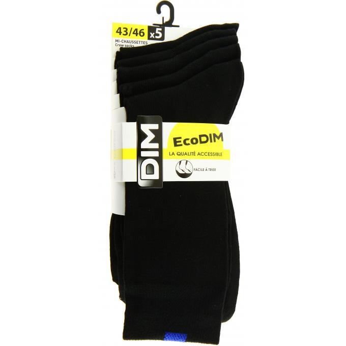 1f879de657586 Mi-chaussette Ecodim x5 Dim - Chaussettes homme