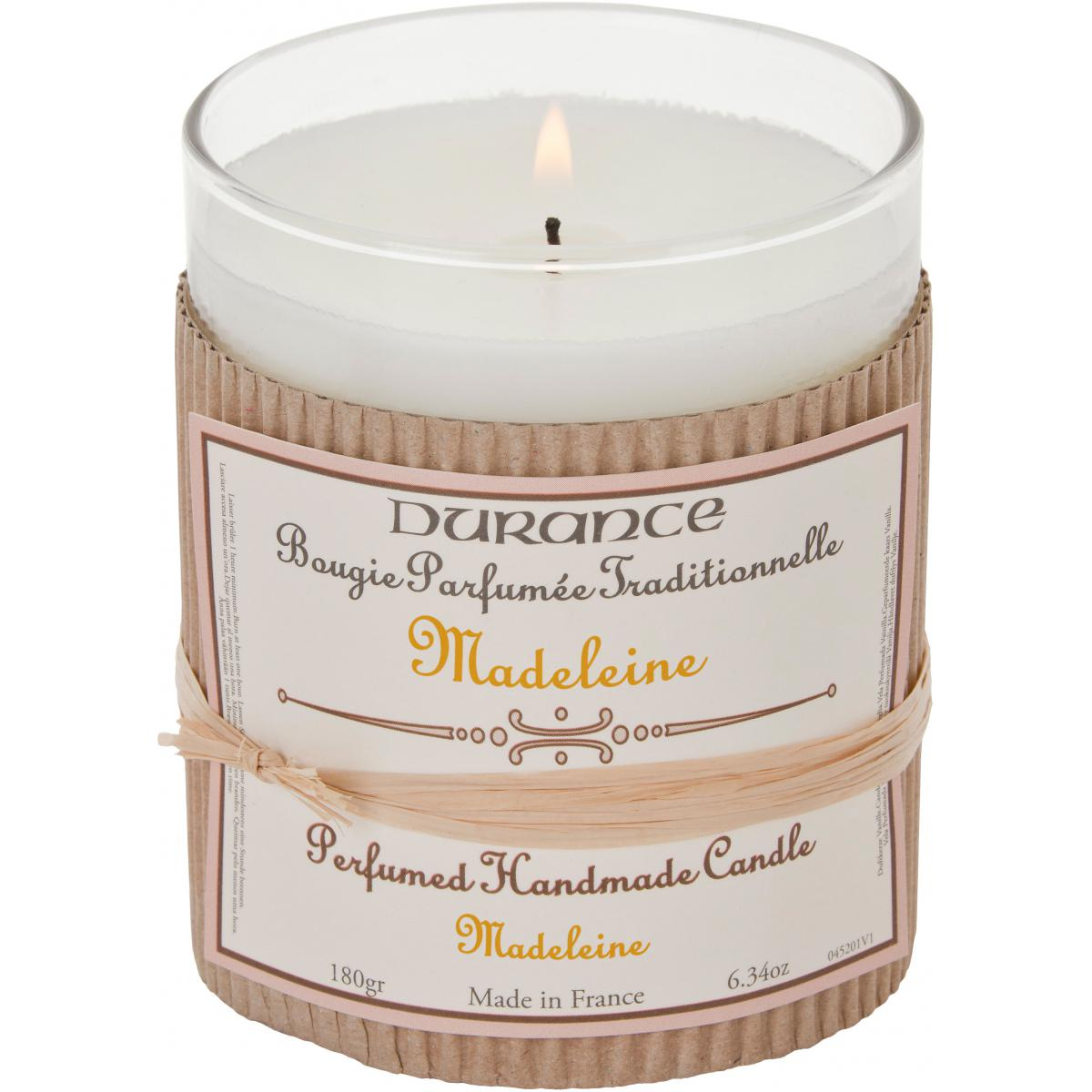 Bougie Parfumée Traditionnelle Madeleine Durance