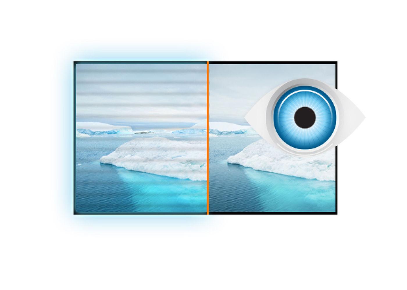 ecran pc bureautique 19.5 led e2083hsd b1 Flicker-Free
