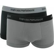 Emporio Armani Underwear Homme - PACK 2 BOXERS COTON STRETCH - Accessoires Mode - ARMANI UNDERWEAR