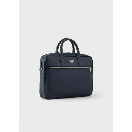 Emporio Armani - Porte document - Porte document homme cuir