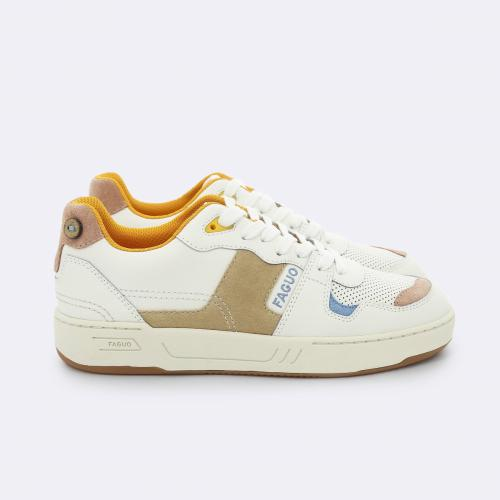 Faguo - BASKETS CEIBA LEATHER SUEDE - Sneakers homme