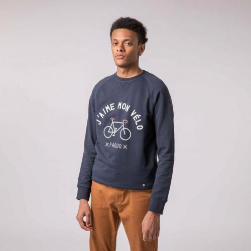 Faguo - DARNEY SWEAT COTON - Mode homme