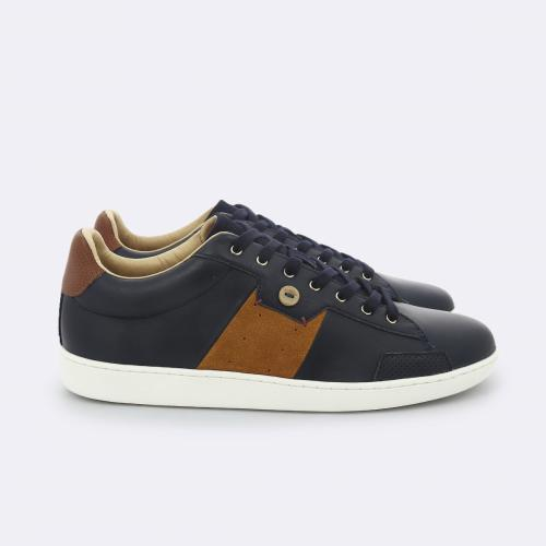 Faguo - TENNIS HOSTA LEATHER SUEDE - Mode faguo mode homme