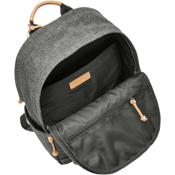 sac dos defender textile zipp fossil sac dos homme. Black Bedroom Furniture Sets. Home Design Ideas