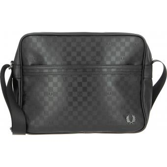 Besace Zippée Damier Fred Perry