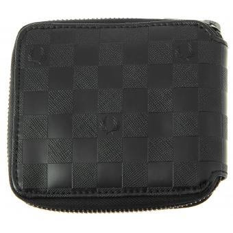 PORTEFEUILLE CHECKERBOARD - Fermeture Zip