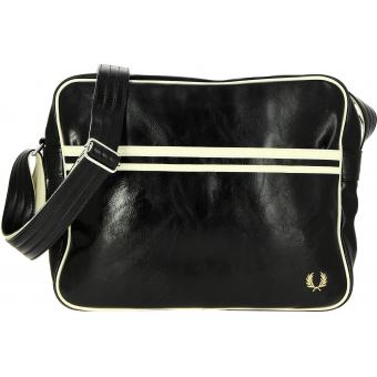 Sac besace messenger noir - Fred Perry