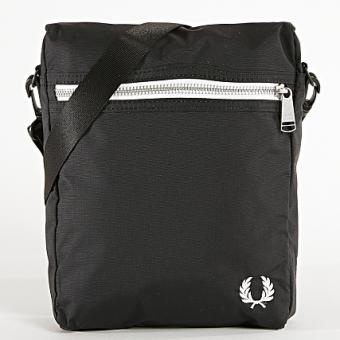 Fred Perry - Porte-documents noir - Fred Perry - Soldes Maroquinerie HOMME