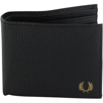 PORTEFEUILLE SCOTCH GRAIN Fred Perry