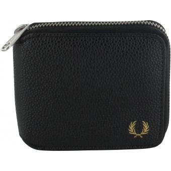 PORTEFEUILLE SCOTCH GRAIN ZIP AROUND Fred Perry