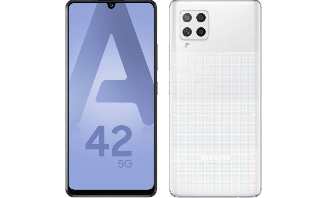 Galaxy A42 - 5G - 128 Go - Blanc