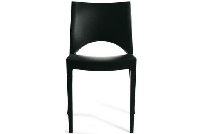 chaise design noire venise chaise design pas cher. Black Bedroom Furniture Sets. Home Design Ideas