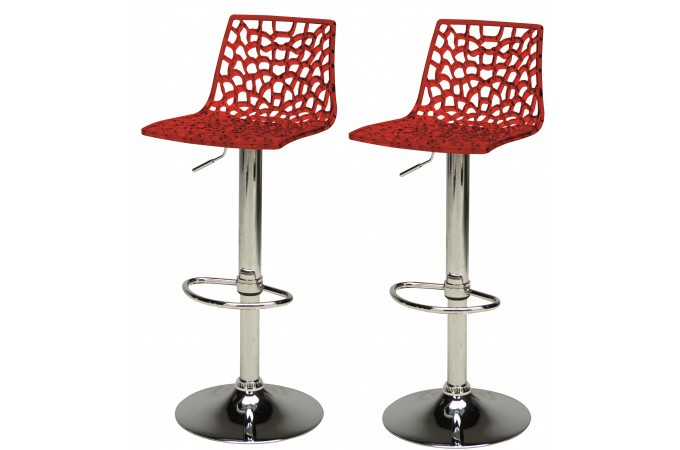 Tabouret de bar design chaises de bar pas cher declik - Lot de 2 tabouret de bar pas cher ...