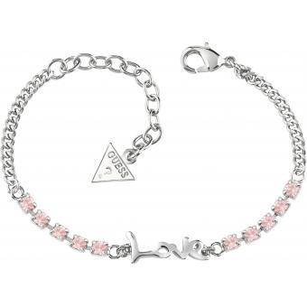 Bracelet Cristaux Love - Guess Bijoux - Guess