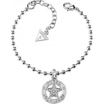 Bracelet Plaque Argenté - Guess Bijoux - Guess