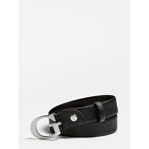 Guess Maroquinerie - Ceinture Ajustable avec Boucle G - Guess - Maroquinerie guess homme