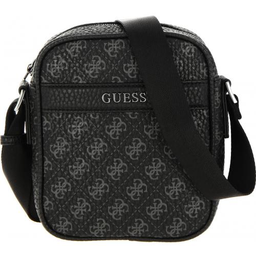 Guess Maroquinerie - CITY LOGO MINI DOC CASE - Maroquinerie guess homme
