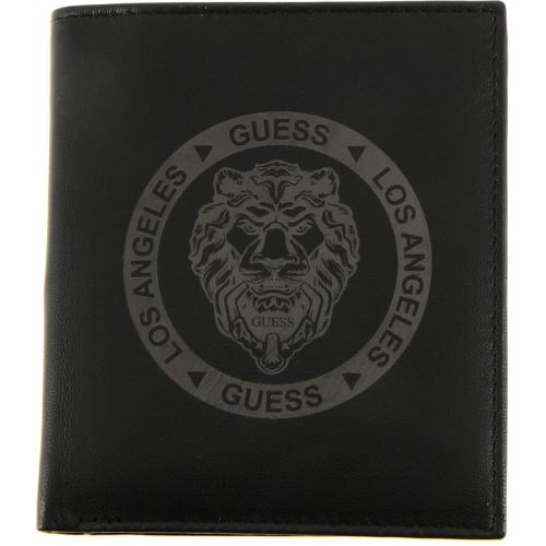Guess Maroquinerie - LION HEART SM BILLFOLD W/CP - Maroquinerie guess homme