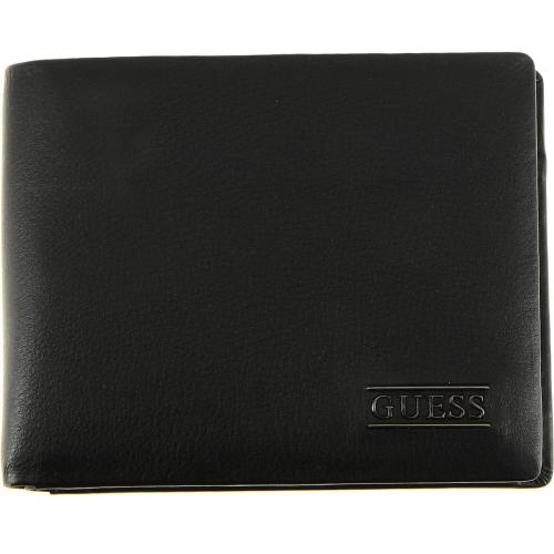 Guess Maroquinerie - Portefeuille cuir verticale et siglée - Portefeuille & Porte cartes HOMME Guess Maroquinerie
