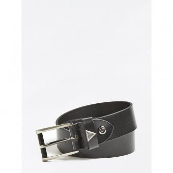 Guess Maroquinerie - CEINTURE AJUSTABLE A BOUCLE GUESS TRIANGLE - Ceinture homme