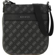 Guess Maroquinerie - CITY LOGO MINI FLAT CROSSBODY - Maroquinerie homme