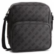 Guess Maroquinerie - CITY LOGO TOP ZIP CROSSBODY - Maroquinerie guess homme