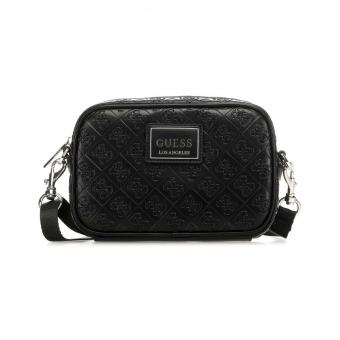 Guess Maroquinerie - DAN LOGO SMALL NECESSAIRE - Petite maroquinerie homme