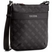 Guess Maroquinerie - Petit Porté Travers Uptown Logo - Maroquinerie guess homme