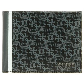 PORTE CARTES FLAT HERITAGE Guess Maroquinerie